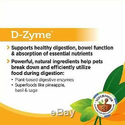 2x Solid Gold D-Zyme Probiotics Chews for Dogs & Cats 6 OZ EXP 07/19