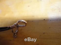 Antique 14K YELLOW GOLD DOG CLIP CLASP FOR POCKET WATCH CHAIN