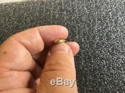 Genuine Antique Solid 18ct Gold Dog Clip For Albert Chain Pocket Watch 3.96g