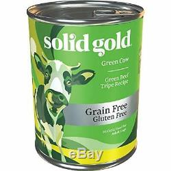 Green Cow Wet Dog Food -Green Beef Tripe Recipe All Sizes -13.2 oz Can (6Count)