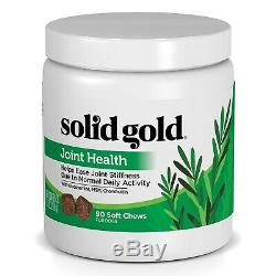(Moderate Joint Health) Solid Gold Joint Health Chews for Dogs Natural