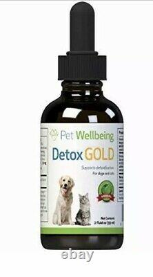Pet Wellbeing Detox Gold For Dogs And Cats