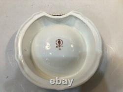 Royal Crown Derby Solid Gold Band Old Imari Dog Bowl Dish Brand New In Box