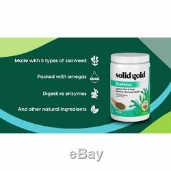 SeaMeal Kelp-Based Supplement for Skin Coat Digestive Immune Health in Dogs Cats