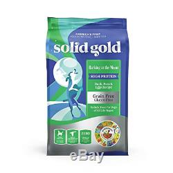 Solid Gold Barking at The Moon Duck Egg & Peas High Protein Grain Free Dry Dog