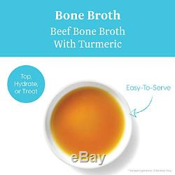 Solid Gold Beef Bone Broth With Turmeric Dog Food Topper, 8 Oz 12 Pack