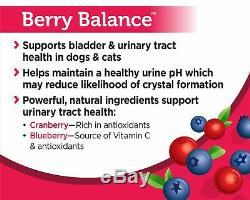 Solid Gold Berry Balance Chews for Urinary Tract Health in Cats Dogs Natural