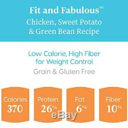 Solid Gold Fit & Fabulous Grain-Free Natural Chicken, Sweet Potato & Green