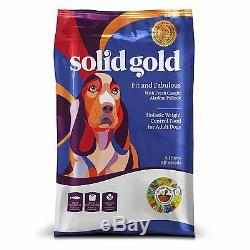 Solid Gold Fit and Fabulous Holistic Dry Dog Food, Fresh Caught Alaskan Pollock