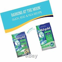 Solid Gold Grain-Free Barking at The Moon with Duck, Egg & Pea Recipe Dry Dog