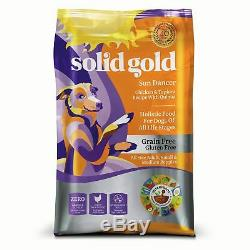 Solid Gold Grain-Free Dry Dog Food Buck Wild (Venison), Sun Dancer (Chicken)
