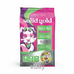 Solid Gold Grain Free Mighty Mini Turkey & Hearty Vegetable Dry Dog Food, 11 lbs