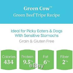 Solid Gold Green Cow Beef Tripe & Broth Natural Wet Canned Dog Food f. New