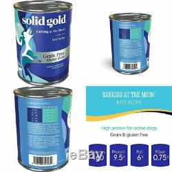 Solid Gold High Protein Dry Dog Food Barking at the 13.2 oz Can (6Count)