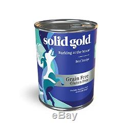 Solid Gold High Protein Wet Dog Food Barking At The Moon Grain Free With Real