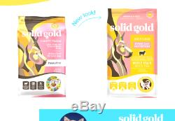 Solid Gold Hund-N-Flocken Natural Adult Dog Food With Real Lamb, Brown Rice A