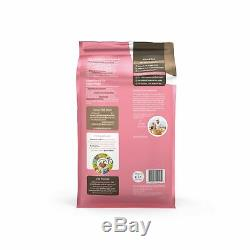 Solid Gold Hund-N-Flocken Natural Adult Dry Dog Food With Real Lamb, Brown R