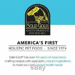 Solid Gold Hund-N-Flocken Natural Adult Dry Dog Food With Real Lamb Brown Ri