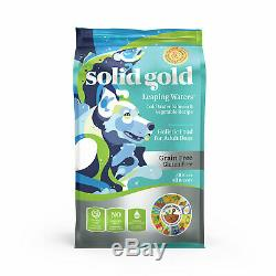 Solid Gold Leaping Waters Salmon & Vegetable Grain Free Adult Dog Food