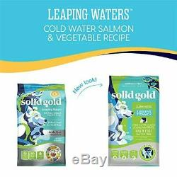 Solid Gold Leaping Waters with Cold Water Salmon Grain-Free Dog Food for Sen
