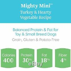 Solid Gold Lil' Boss Turkey & Vegetable Small Breed Dog Food, 4 lbs