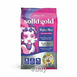 Solid Gold Mighty Mini Beef Small & Toy Breed Wet & Dry Dog Food 11 lb Bag