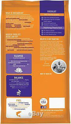 Solid Gold -Natural Chicken High Protein Adult Dog Food for All Life Stages