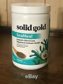 Solid Gold SeaMeal Powder for Dogs & Cats 1lb, Supports Skin, Coat, Digestive