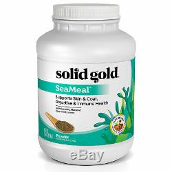 Solid Gold SeaMeal Powder for Skin & Coat, Digestive & Immune Health For Dogs &