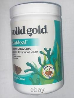 Solid Gold SeaMeal Supports Skin & Coat Digestive/Immune Health Dogs 120 Chews
