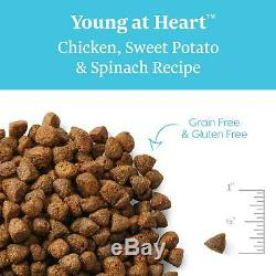 Solid Gold Senior Dog Dry Food Young At Heart Grain Free With Real Chicken