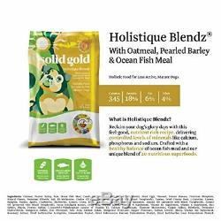 Solid Gold Sensitive Stomach Dry Dog Food Holistique Blendz with Oatmeal & Fish