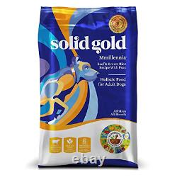 Solid Gold Sensitive Stomach Dry Dog Food MMillennia with Real Beef & Brown