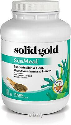Solid Gold Skin And Coat, Digestive And Immune Health Dog And Cat Supplement