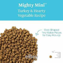 Solid Gold Small & Toy Breed Wet & Dry Dog Food with Real Protein, Turkey