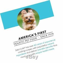 Solid Gold Small & Toy Breed Wet & Dry Dog Food with Real Protein Turkey