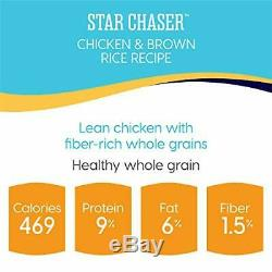 Solid Gold Star Chaser with Real Chicken Natural Wet Dog Food 13.2-oz C