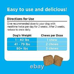 Solid Gold Stop Eating Poop for Dogs with Coprophagia Natural Chews 60 Ct