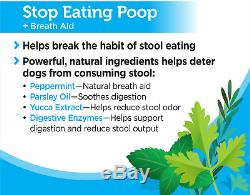 Solid Gold Stop Eating Poop for Dogs with Coprophagia Natural, Grain-Free Chews