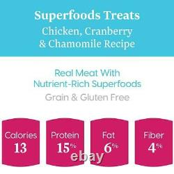 Solid Gold Superfoods Treats for Small & Toy Breeds Grain Free Chewy Dog