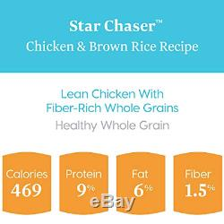 Solid Gold Wet Dog Food Star Chaser With Real Chicken, Liver & Brown Rice, Can