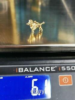 Solid gold Dog Poodle Vintage Charm, Hallmarked 9ct c1971, FREE Insured P&P #Xx