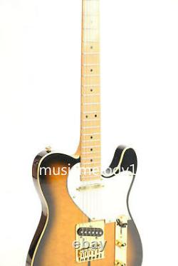 TL Truff Dog Electric Guitar Quilted Maple Top Venner Gold Hardware C Shape Neck
