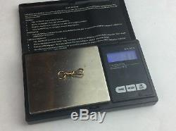 VINTAGE 9ct SOLID GOLD ALBERT WATCH CHAIN SWIVEL DOG CLIP CLASP 1.9 g